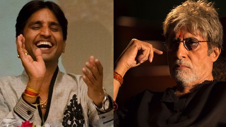 Kumar Vishwas' 'uncalled' tribute to 'Nirman' earns him a legal notice from Amitabh Bachchan