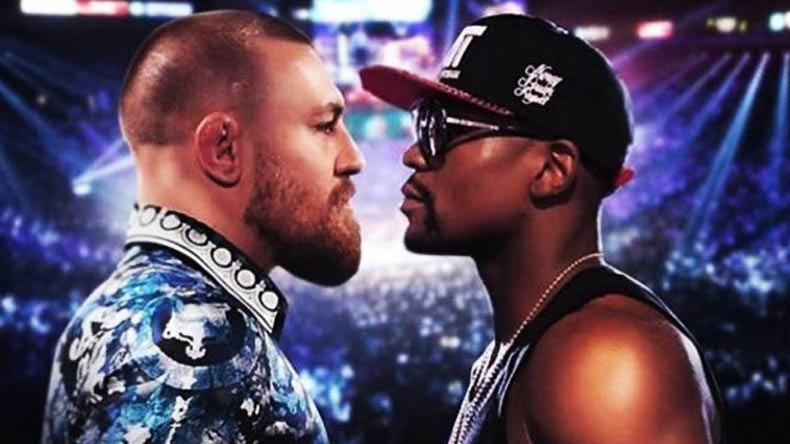 Champ announces 'Notorious' movie, Mayweather on fight game plan