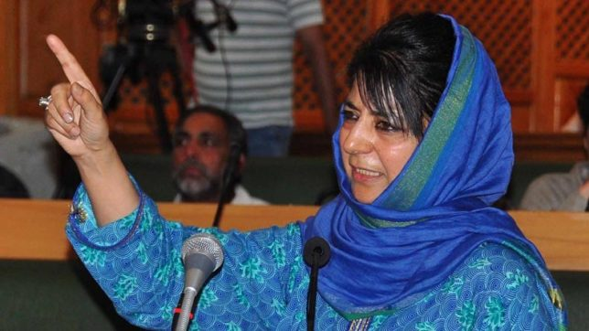 'Narendra Modi is man of moment' but for Mehbooba Mufti 'India is Indira'