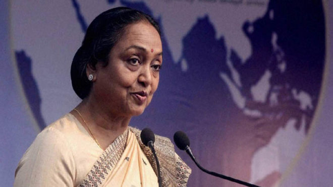 We must fight for the most suppressed: Meira Kumar