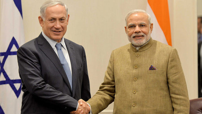 Modi leaves for Israel on his three-day historic visit