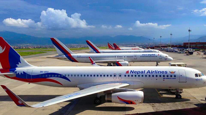 Nepal's flag carrier starts online ticketing