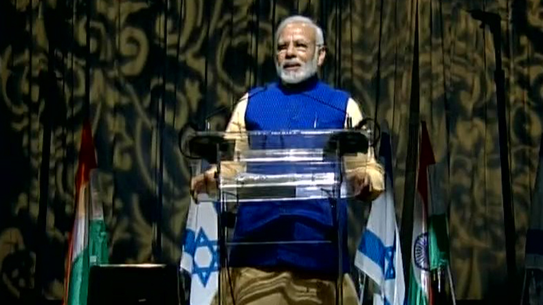 Tech, security top Modi talks in Israel