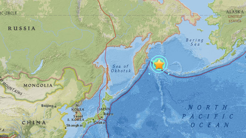 7.8 magnitude quake hits off Russia's Kamchatka, tsunami warning
