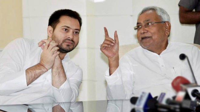 Benami property case: Tejashwi Yadav finally meets Nitish Kumar to end crisis