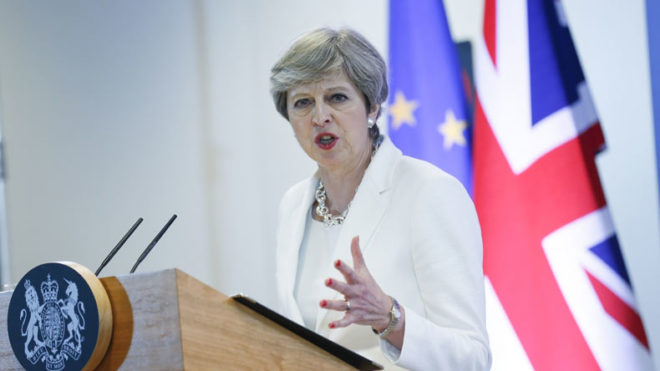 Theresa May 'shed tears' after losing majority in snap election