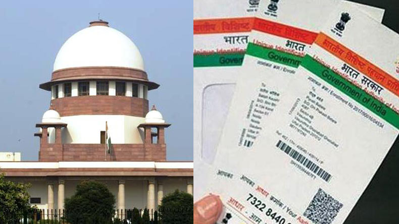 Now, nine-judge SC bench to hear Aadhaar petitions on Thursday