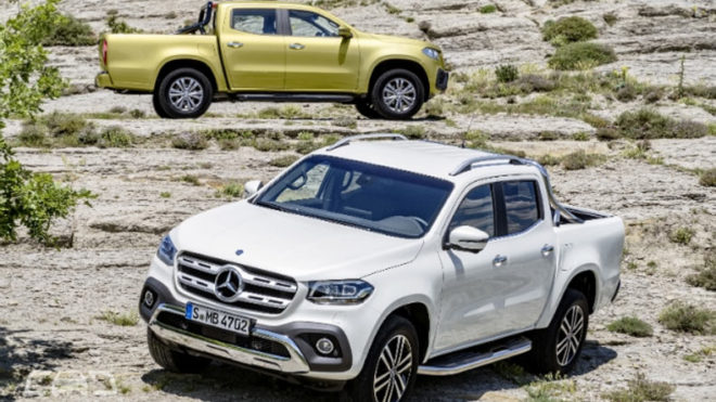 Mercedes-Benz X-Class debuts in South Africa