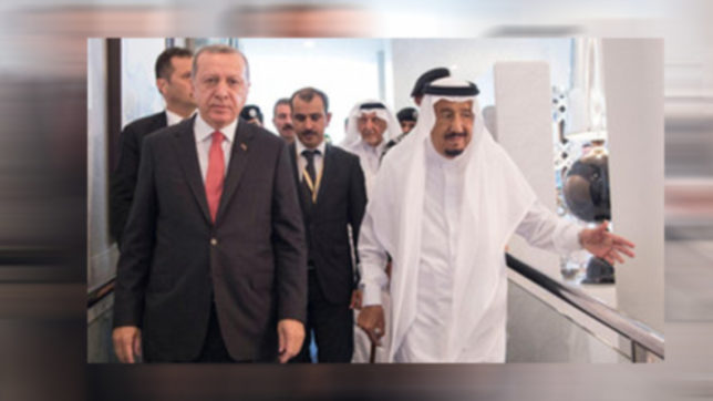 Turkish President Erdogan, Saudi King discuss Qatari crisis amid mediation efforts