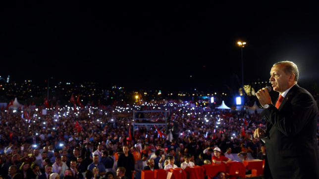 Turkey marks first anniversary of failed coup