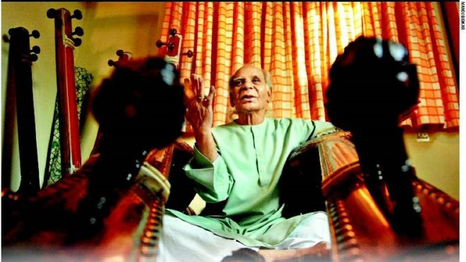 Doyen of Hindustani classical music Ustad Sayeeduddin Dagar passes away