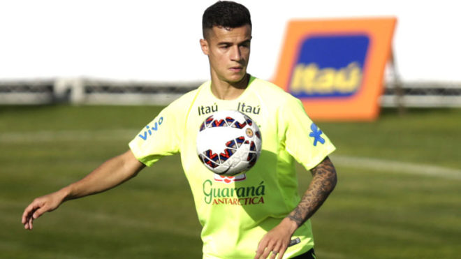 Brazil's Coutinho fit to face Ecuador in World Cup qualifiers