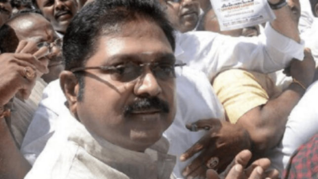 TTV Dinakaran hits back at EPS after his removal