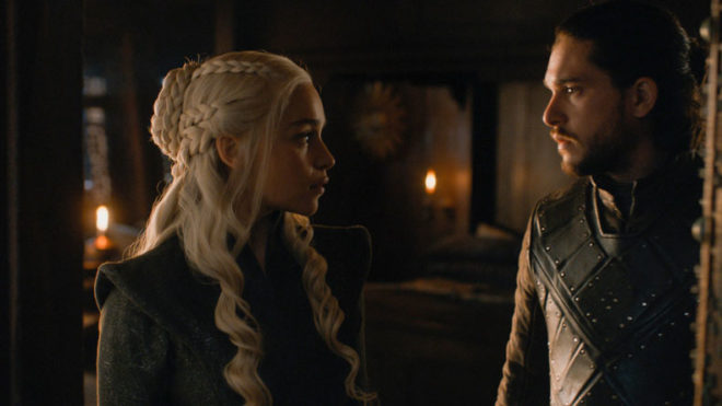 'Game of Thrones':Emilia Clarke and Kit Harington say they found sex scene 'weird'