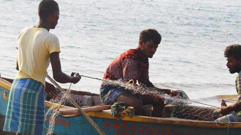 Sri Lankan navy apprehends 12 more fishermen of Rameshwaram