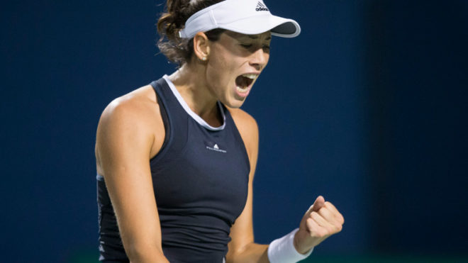 US Open tennis: Garbine Muguruza advances to second round