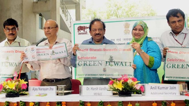 Government launches campaign for pollution-free Diwali