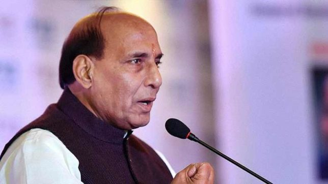 Home Minister Rajnath Singh reviews border area projects