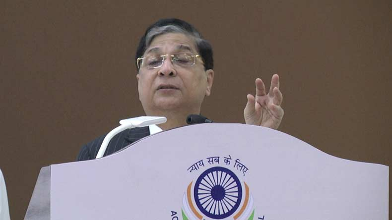 Justice Dipak Mishra to be next CJI: Law ministry