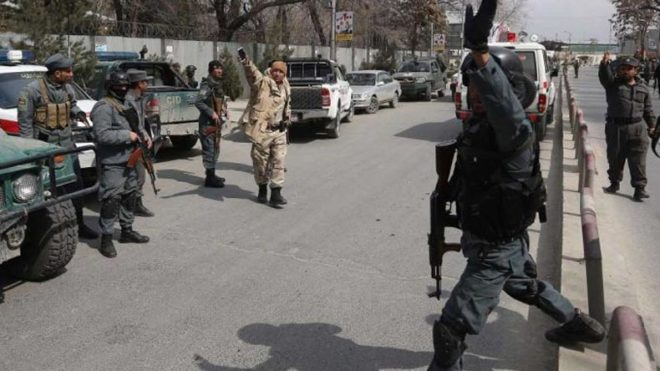 Rocket fired onto diplomatic district in Kabul