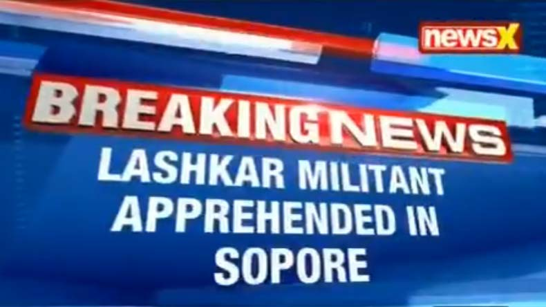 LeT module busted in Sopore, militant arrested along with ammunition Suhail Khan