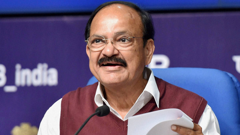 Will steer Rajya Sabha without fear or favour: VP-elect Venkaiah Naidu