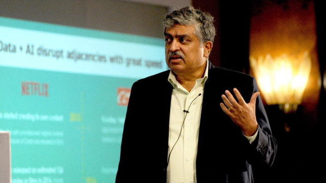 Will be with Infosys as long required: Nandan Nilekani