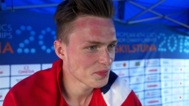 Norway's Karsten Warholm scores 'astounding' victory in men's 400m hurdles at world athletics