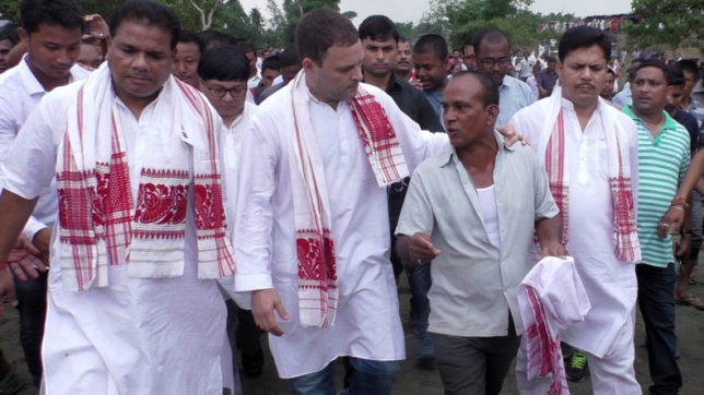Rahul Gandhi to visit flood-hit north Gujarat on Friday