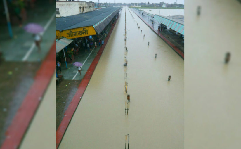 Railway services hit in east India, NE region due to rains