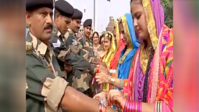 Army Jawans to political honchos, a nation bonds over Rakhi