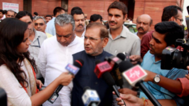 JD (U) not just Nitish Kumar's party, is mine too, says Sharad Yadav