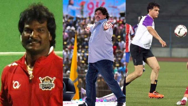 Fangasm! Dhanraj Pillay, Sourav Ganguly to play in charity match with Maradona