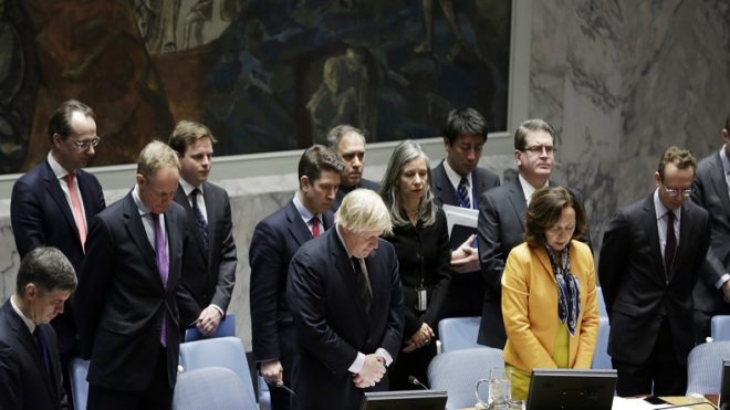 UN Security Council observes minute of silence for Spain terror victims