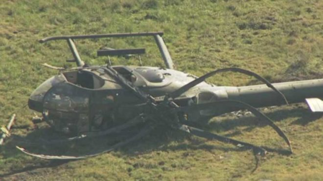 Virginia: 2 killed in helicopter crash