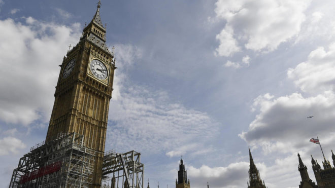 Britain's Big Ben falls silent for 4 years