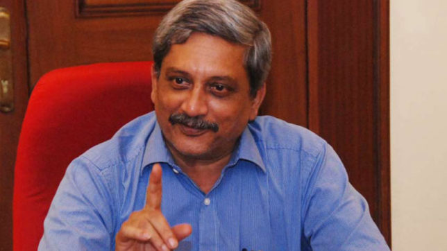 Goa chief minister Manohar Parrikar files nomination for Panaji Assembly seat