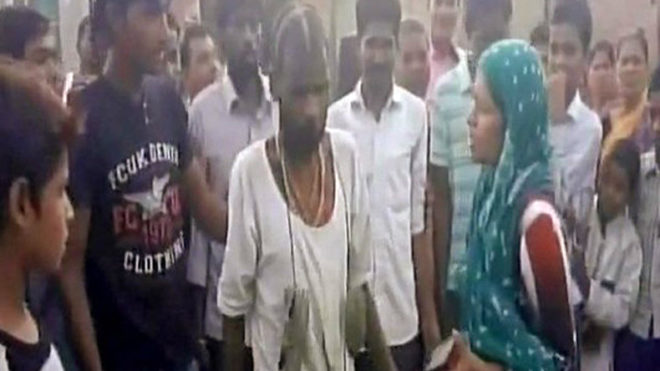 Rape attempt foiled, villagers thrash and garland accused with sleepers
