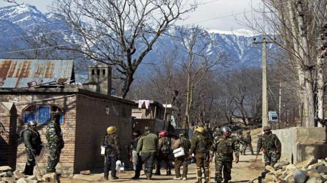 Two killed in J&K suicide attack