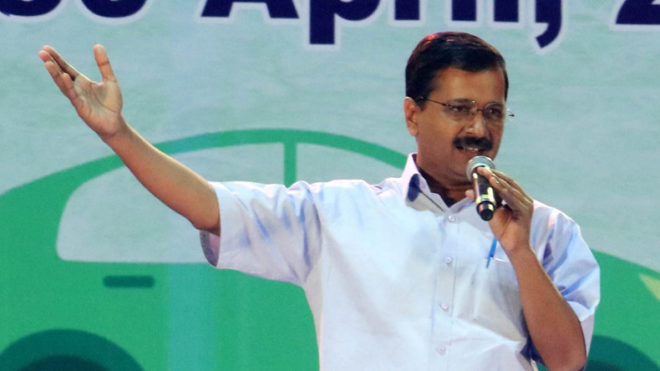 Chief Minister Arvind Kejriwal inaugurates 1,206 community toilets in slums