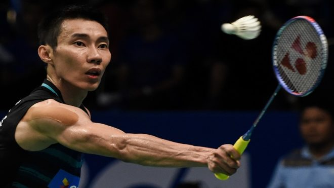 Malaysian top seed Lee Chong Wei crashes out of Badminton World Championships