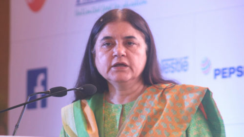 Need to promote organic products: Union Minister Maneka Gandhi