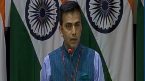 China has not shared hydrological data this year: MEA Raveesh Kumar