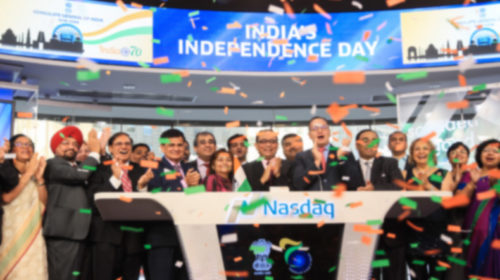 Nasdaq celebrates India's 71st Independence Day