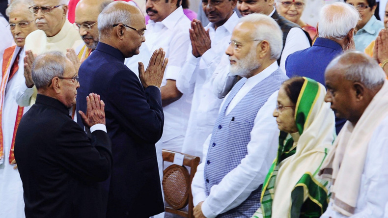Pranab Mukherjee shares 'touching' letter penned on his last day in Rashtrapati Bhawan by PM Modi