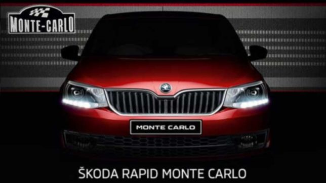 Skoda open bookings of its fastest cars in India — Rapid Monte Carlo and Octavia RS
