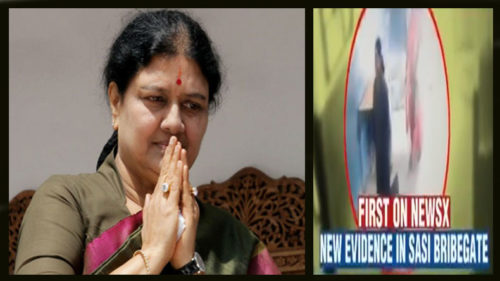 Sasikala bribegate: Video suggests AIADMK general secretary might have left jail for a day