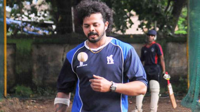 Sreesanth returns on cricket field after 4 years