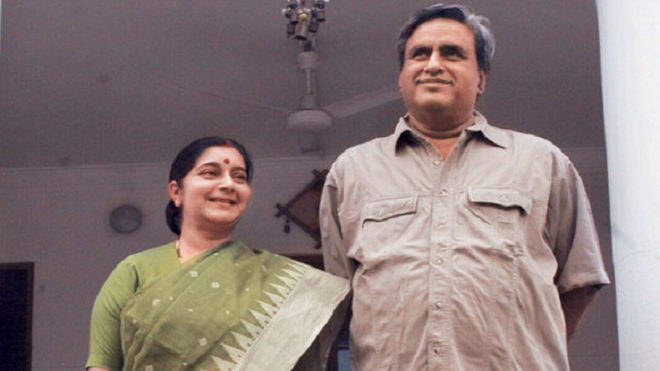 There is nothing like marital rape: Sushma Swaraj's husband Swaraj Kaushal's tweet draws flak