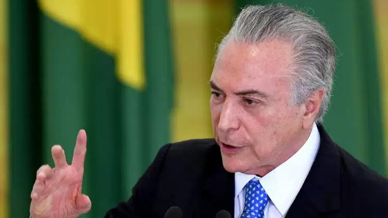 Brazil: Chamber of Deputies rejects corruption charges against Temer